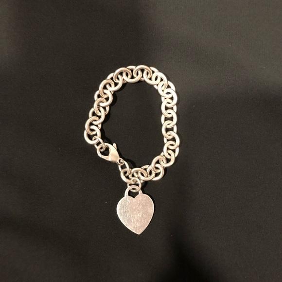 b99ee57ef Tiffany & Co. Jewelry | Tiffany Co Heart Tag Charm Bracelet | Poshmark